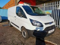 USED 2016 16 FORD TRANSIT CUSTOM 290 L1 SWB REFRIGERATED GAH FRIDGE VAN 1 FORMER KEEPER - SIDE LOADING DOOR - MINUS 20 DEGREES
