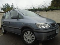 USED 2004 04 VAUXHALL ZAFIRA 1.6 CLUB 16V 5d 99 BHP GUARANTEED TO BEAT ANY 'WE BUY ANY CAR' VALUATION ON YOUR PART EXCHANGE