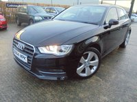 USED 2015 64 AUDI A3 1.6 TDI SPORT 5d 109 BHP FSH, One Owner, Excellent Condition, No Deposit Finance Available