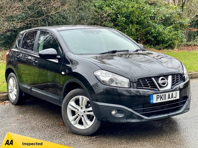 USED 2011 11 NISSAN QASHQAI 1.5 ACENTA DCI  5d 110 BHP TIMING BELT AND WATER PUMP CHANGED 11/17