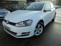 USED 2015 VOLKSWAGEN GOLF 1.6 MATCH TDI BLUEMOTION TECHNOLOGY 5d 109 BHP Only One Owner, Excellent Condition, No Deposit Finance Available, Part Exchange Welcomed