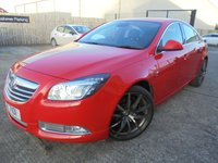 USED 2013 VAUXHALL INSIGNIA 2.0 SRI VX-LINE RED CDTI 5d 157 BHP Excellent Condition, No Deposit Finance Available, No Finance Fees, Part Ex Welcomed