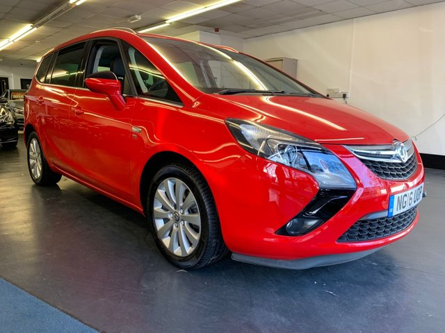 USED 2016 16 VAUXHALL ZAFIRA TOURER 1.4 SE 5d 138 BHP FRONT AND REAR PARKING SENSORS, BLUETOOTH PHONE PREPARATION, 1 OWNER FROM NEW WITH FULL SERVICE HISTORY.