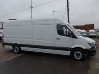 USED 2016 66 MERCEDES-BENZ SPRINTER 313 CDI LWB HI ROOF, ULEZ COMPLIANT
