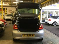 USED 2012 61 VOLKSWAGEN POLO 1.4 MATCH DSG 5d 83 BHP