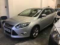 USED 2014 63 FORD FOCUS 1.6 ZETEC TDCI 5d 113 BHP