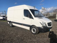 2015 MERCEDES-BENZ SPRINTER 313 MWB HIGH ROOF PANEL VAN £7695.00