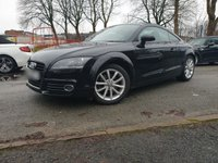 USED 2013 13 AUDI TT 1.8 TFSI SPORT 2d 158 BHP 2KEYS+ALLOYS+LEATHER+PARK+CD+