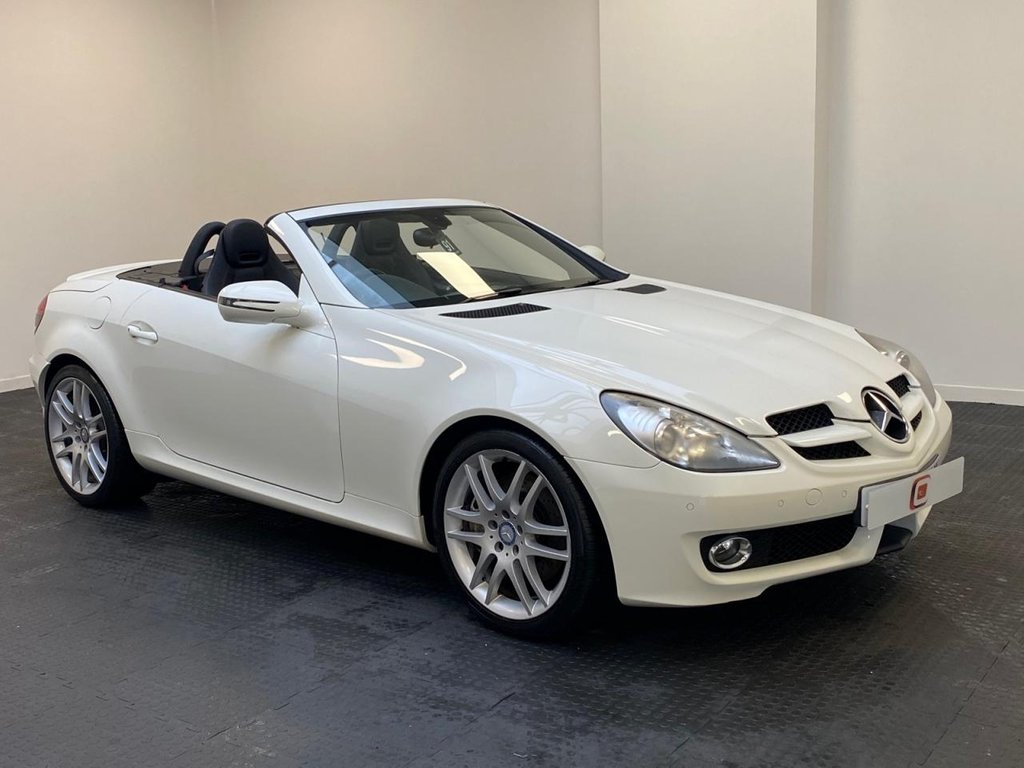 USED 2008 08 MERCEDES-BENZ SLK 3.0 SLK280 2d 232 BHP LOW MILES + AIR SCARVES + SERVICE HISTORY + FINANCE & PART EX ?
