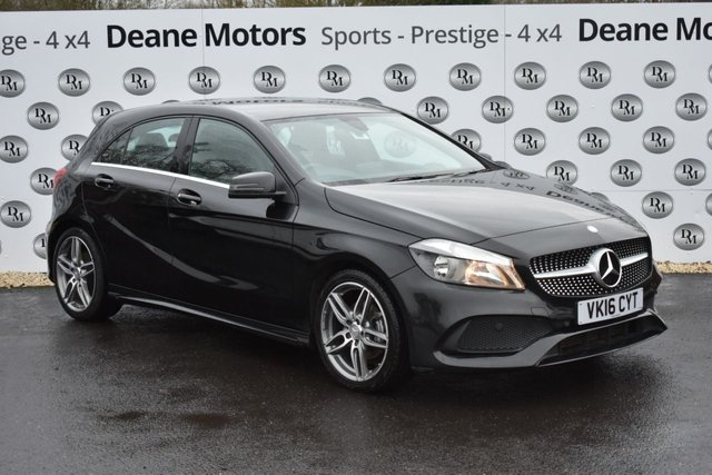 2016 16 MERCEDES-BENZ A CLASS 2.1 A 200 D AMG LINE 5d 134 BHP STUNNING CONDITION