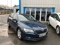 USED 2016 65 SKODA SUPERB 1.6 SE BUSINESS TDI DSG 5d 118 BHP