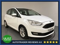 USED 2016 16 FORD C-MAX 1.5 ZETEC TDCI 5d AUTO 118 BHP FULL FORD HISTORY - 1 OWNER - REAR SENSORS - BLUETOOTH - DAB RADIO - CD PLAYER - USB - 16' ALLOYS