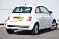 USED 2010 60 FIAT 500 1.2 LOUNGE 3d 69 BHP FSH - GLASS ROOF - BLUETOOTH