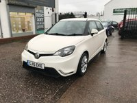 USED 2015 15 MG 3 1.5 3 FORM SPORT VTI-TECH 5d 106 BHP FULL DEALER HISTORY-5 STAMPS-BLUETOOTH-1 FORMER KEEPER-ALLOYS