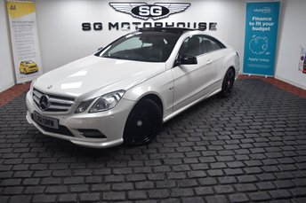 2011 MERCEDES-BENZ E CLASS 2.1 E250 CDI BLUEEFFICIENCY SPORT ED125 2d 204 BHP £9495.00