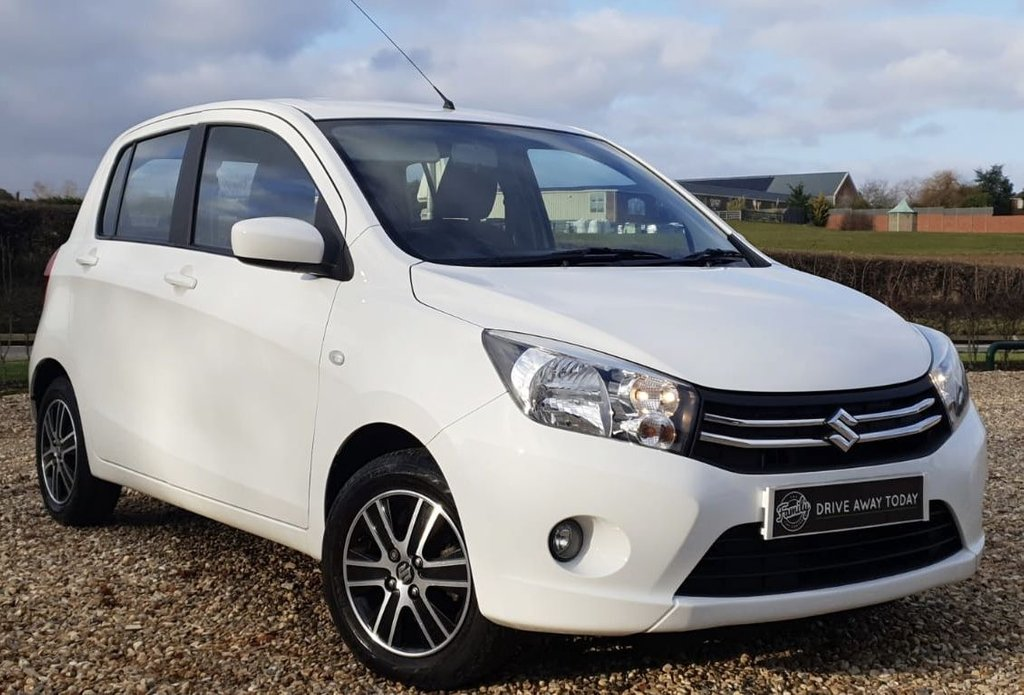 USED 2015 64 SUZUKI CELERIO 1.0 SZ4 5d 67 BHP ONLY THREE THOUSAND MILES COVERED IN NEARLY 5 YEARS!