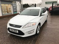 USED 2014 14 FORD MONDEO 1.6 TITANIUM X BUSINESS EDITION TDCI START/STOP 5d 114 BHP FULL SERVICE HISTORY-£20 ROAD TAX-SAT NAV-BLUETOOTH-HEATED SEATS