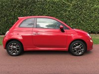 USED 2014 14 FIAT 500 1.2 S (s/s) 3dr 1OWNER+£30TAX+BLUETOOTH+MORE