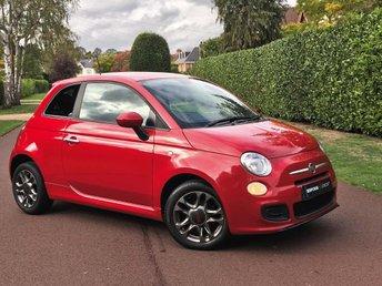 2014 FIAT 500 1.2 S (s/s) 3dr £4795.00