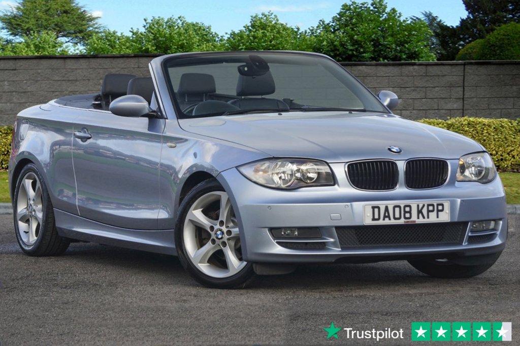 USED 2008 08 BMW 1 SERIES 2.0 118I SE 2d 141 BHP