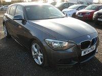 2014 BMW 1 SERIES 2.0 116D M SPORT 5d 114 BHP SOLD