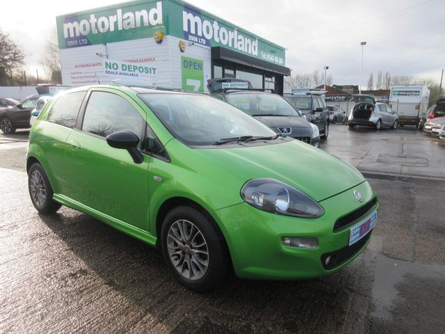 USED 2012 62 FIAT PUNTO 0.9 TWINAIR 3d 85 BHP JUST ARRIVED NO DEPOSIT FINANCE