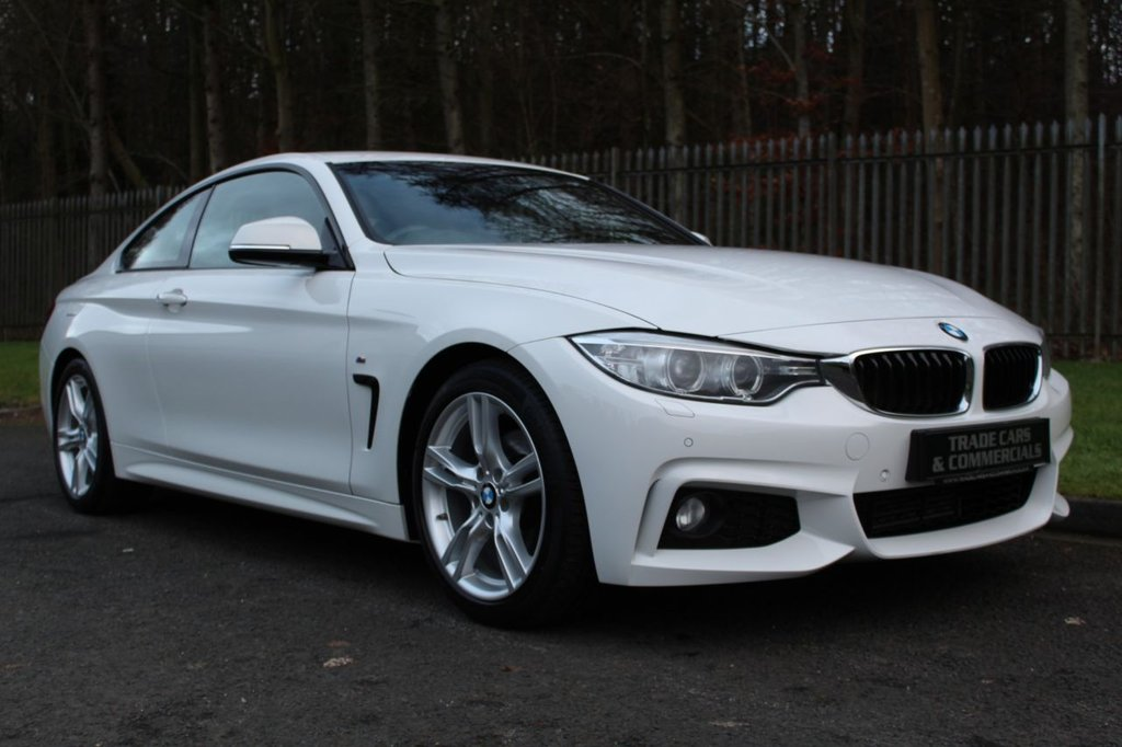 USED 2016 65 BMW 4 SERIES 2.0 420D M SPORT 2d 188 BHP A STUNNING ONE OWNER, LOW MILEAGE CAR WITH FULL BMW SERVICE HISTORY!!!