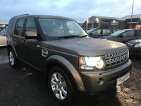 USED 2013 13 LAND ROVER DISCOVERY 3.0 SD V6 HSE 5dr UNBEATABLE VALUE+MEGA SPEC+FSH