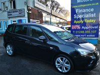 USED 2016 16 VAUXHALL ZAFIRA TOURER 1.4 SRI 5d 138 BHP, only 23000 miles, 7 Seater, Full Leather, One Owner *** FULL LEATHER ***