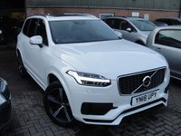 USED 2018 18 VOLVO XC90 2.0 T8 TWIN ENGINE R-DESIGN AWD 5d 402 BHP ANY PART EXCHANGE WELCOME, COUNTRY WIDE DELIVERY ARRANGED, HUGE SPEC