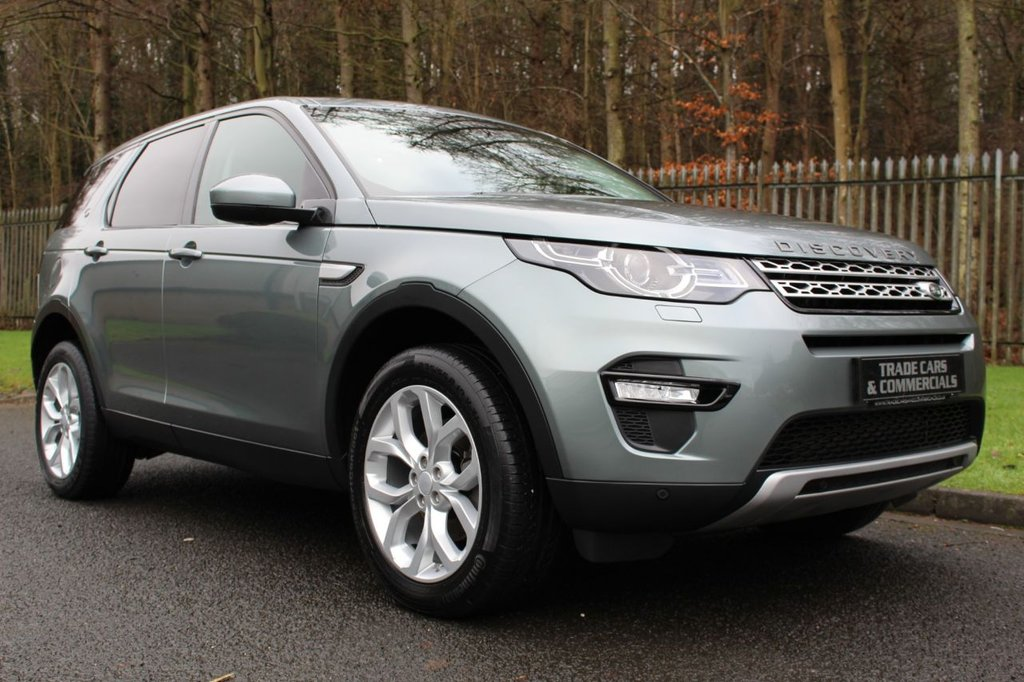 USED 2015 15 LAND ROVER DISCOVERY SPORT 2.2 SD4 HSE 5d 190 BHP A ONE OWNER CAR WITH A FULL LAND ROVER SERVICE HISTORY!!!