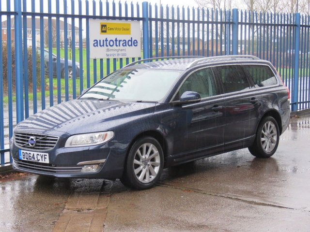 USED 2014 64 VOLVO V70 2.0 D4 SE LUX 5d 178 BHP Full Leather,SatNav,History