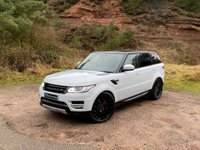 "USED 2015 65 LAND ROVER RANGE ROVER SPORT 3.0 SDV6 HSE 5d 306 BHP Black pack 22"" dynamic ALLOYS"