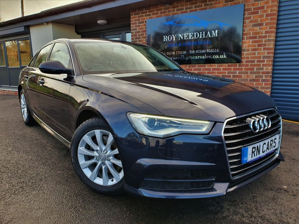 USED 2016 66 AUDI A6 2.0 TDI ULTRA SE EXECUTIVE 4DR 188 BHP ***SAT NAV - WELL LOOKED AFTER CAR***