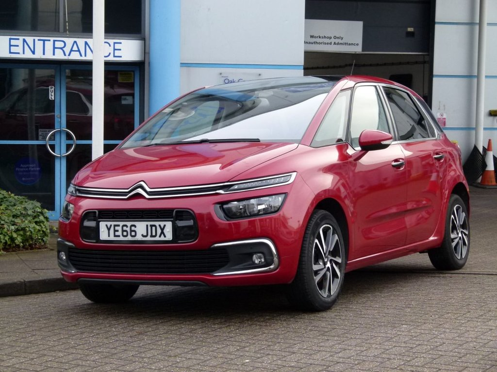 USED 2016 66 CITROEN C4 PICASSO 1.6 BLUEHDI FLAIR S/S EAT6 5d 118 BHP