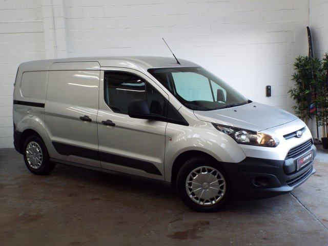 2014 14 FORD TRANSIT CONNECT 1.6 240 P/V 94 BHP LWB LONG WHEEL BASE SILVER CONNECT PRICE IS PLUS VAT  SOLD TO  TRAFALGAR FLOORING &BEDS LTD