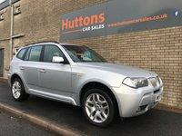 2007 BMW X3 2.5 SI M SPORT 5d 215 BHP £4795.00