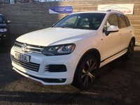 USED 2014 63 VOLKSWAGEN TOUAREG 3.0 V6 R-LINE TDI BLUEMOTION TECHNOLOGY 5d 242 BHP