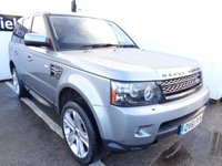 2011 LAND ROVER RANGE ROVER SPORT 3.0 SDV6 HSE LUXURY 5d 255 BHP 4x4 awd 4wd £13675.00
