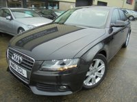 USED 2012 61 AUDI A4 2.0 TDI TECHNIK 4d 134 BHP Buy Now Pay Feb 2020, Excellent Condition, FSH, No Deposit Needed, Part Ex Welcomed