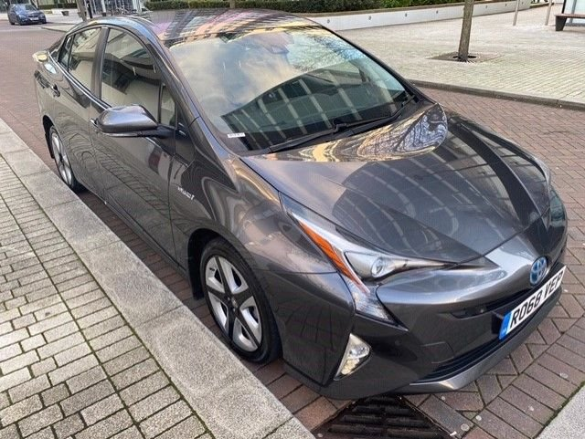 2018 68 TOYOTA PRIUS 1.8 VVT-I EXCEL 5d 97 BHP