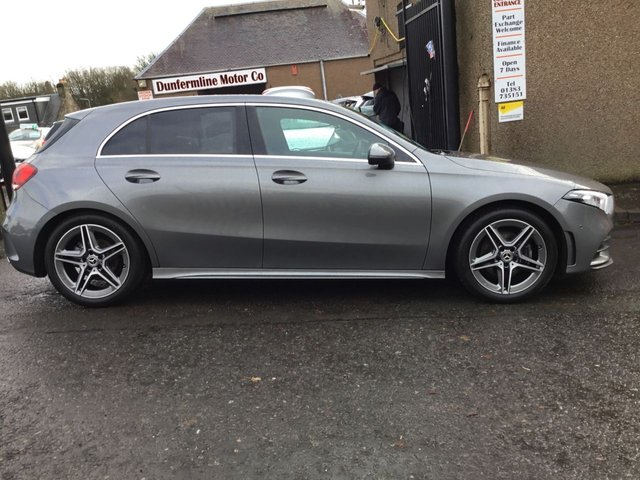 USED 2019 19 MERCEDES-BENZ A CLASS 1.5 A 180 D AMG LINE EXECUTIVE 5d 114 BHP ++1 OWNER DIESEL AUTOMATIC+VERY LOW MILEAGE++