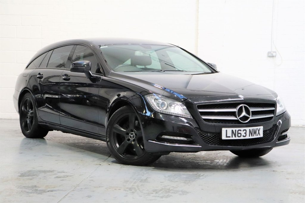 USED 2013 63 MERCEDES-BENZ CLS CLASS 2.1 CLS250 CDI BLUEEFFICIENCY 5d 202 BHP Leather + Satnav + Parking Sensors Front Rear + Cruise