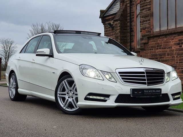 2012 12 MERCEDES-BENZ E CLASS 2.1 E250 CDI BLUEEFFICIENCY SPORT 4d 204 BHP