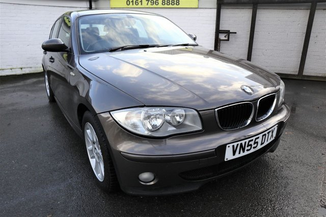 USED 2005 55 BMW 1 SERIES 2.0 118I SE 5d 128 BHP * FULL HISTORY - ONLY 2 OWNERS *