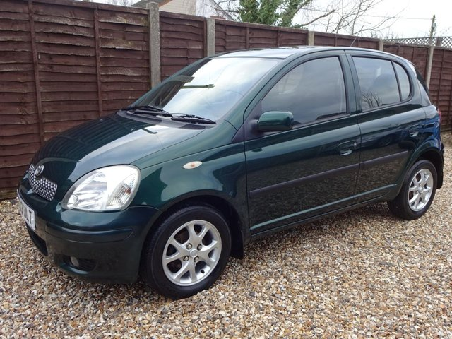 USED 2003 03 TOYOTA YARIS 1.3 T SPIRIT VVT-i 5door PART EXCHANGE TO CLEAR, 12 MONTHS MOT