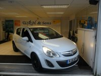 2012 VAUXHALL CORSA 1.2 EXCITE AC 5d 83 BHP SOLD