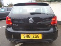 USED 2011 61 VOLKSWAGEN POLO 1.2 S 3d 60 BHP GUARANTEED TO BEAT ANY 'WE BUY ANY CAR' VALUATION ON YOUR PART EXCHANGE