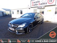 USED 2014 64 MERCEDES-BENZ E CLASS 2.1 E220 CDI AMG SPORT 2d AUTO 170 BHP GOOD AND BAD CREDIT SPECIALISTS! APPLY TODAY!