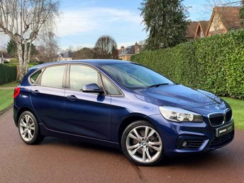 2016 BMW 2 SERIES 1.5 225xe 7.6kWh Sport Active Tourer Auto 4WD (s/s) 5dr £14600.00